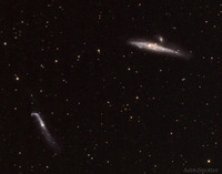 The Whale and Hocky Stick Galaxies