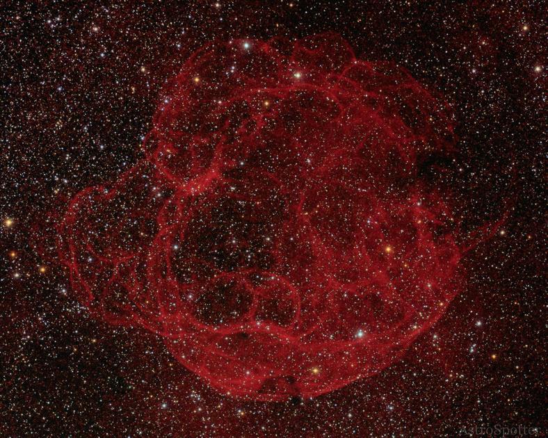 supernova in the night sky - photo #29